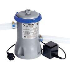 Bestway 58386 3.028 L/h Flowclear Filterpumpe - Grau/Blau