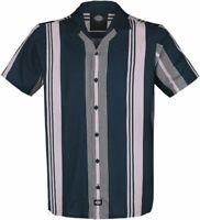 Dickies Bowlingshirt shirt Hemd 50er Rockabilly Hot Rod Oldschool Boogie M-XXL