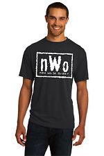 New Mens T-shirt nWo New World Order Black White Logo S M L XL 2XL 3XL 4XL 5XL