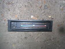 Porsche 924 944 (1981-1989)  Heater Control Facia Plate Panel Dashboard Black
