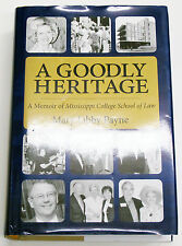 A Goodly Heritage by Mary Libby Payne SIGNED RARE