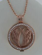 Original Mi Milano necklace/pendant/carrier / árbol de life/angel wings/moneda