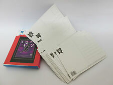 38 Pictogram POSTCARD SET.. London 2012 Olympics Post Cards...... collection box