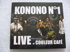CD DIGIPACK KONONO N°1 - LIVE AT COULEUR CAFE  / neuf & scellé