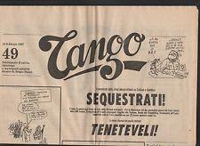 TANGO - semanal sátira juego 70 números dispersos