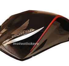 Honda HORNET 2008 - baffi adesivi bicolore serbatoio - racing decals