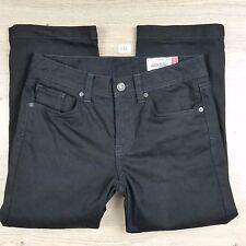 Jag Jeans High Rise Reg fit Crop/Capri Black Womens Jeans Size 9 W30 (C16)