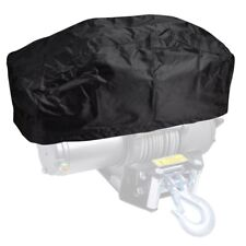 Waterproof Winch Dust Cover 420D Fits Driver Recovery 15000LB To 17500LB Black