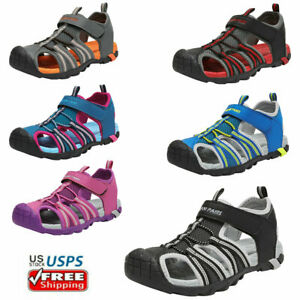 Kids Boys Girls Athletic Sandals Summer Beach Sandals Fishman Water Sports Shoes