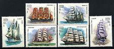 Russia 1981 SG#5167-5172 Cadet Sailing Ships MNH Set #D47766