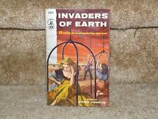 INVADERS OF MARS - 15 STORIES - Pocket Book 1074-Groff Conklin Editor - PB 1955