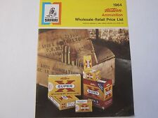 1964 Winchester Western Super X Ammunition Price List Catalog LOTS More Listed