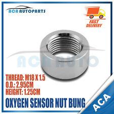 SS304 Standard M18*1.5 Thread O2 Oxygen Sensor Nut Bung Curve Notched Nut Bung