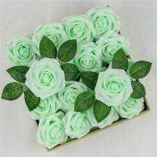 16pcs Foam Roses Artificial Fake Flowers Party Wedding Bridal Bouquet Home Decor