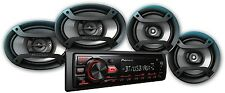 """Pioneer Bluetooth Car Stereo Receiver 2x 6.5"""" Speakers 2x 6"""" X 9"""" USB Aux In"""