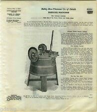 1916 ADVERT The Turbine Vacuum Washing Machine Horton Belt Power Electric