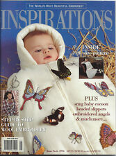 INSPIRATIONS Issue #5 1994 Exquisite Hand Embroidery/ Heirloom Sewing/ Bead NEW