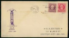 Habana 1933 Grace Line First Voyage cover wwi 3605