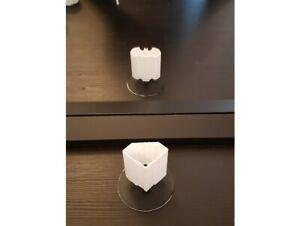 Ilusion optica circulos forma diamante flor superman batman hexagono corazon
