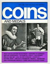 COINS & MEDALS - 64 Page Magazine May 1968 Good Reference