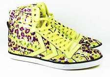 HUMMEL Slimmer Stadil High Canvas/Leder Sneaker Schuhe ZB1/372 gelb bunt 37(38)