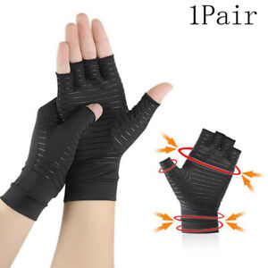 Compression Gloves Brace Support Arthritis Relief Carpal Tunnel Hand Wrist P P5