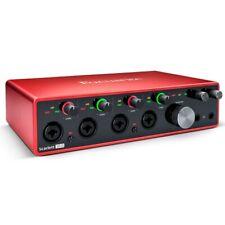 Focusrite Scarlett 18i8 Gen 3 18-in/8-out USB Audio Interface. Taking Orders