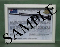 SLR, L1A1 Self Loading Rifle - Black Furniture, Australian Army