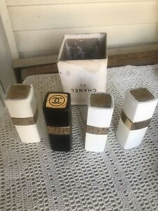 Vintage Chanel Tester Display Perfume bottles #5 & #22