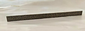 STONE WALL N GAUGE N SCALE LASER CUT AND ENGRAVED PAINTED 250mmx17mm