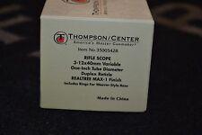 "Thompson Center Predator 3-12x40mm Rifle Scope Duplex 1"" Tube Realtree Max-1"