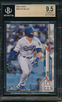 2020 Topps #292 Gavin Lux RC BGS 9.5