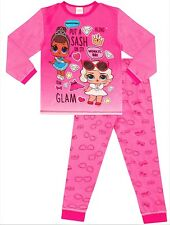 Girls Official LOL Surprise Pyjamas Pj Girl's Pajamas 4 to 9 Years Pink