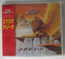 ASIA - Arena JAPAN CD OBI RAR! WPCR-295