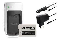 Baterìa+Cargador LP-E8 LPE8 para Canon EOS 550D, 600D, 650D, Rebel T2i T3i T4i
