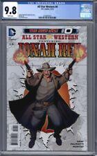 All-Star Western Featuring Jonah Hex #0  DC Comics New 52 1st Print CGC 9.8