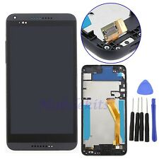 Black For HTC Desire 816 LCD Display Touch Screen Digitizer Frame Assembly USA