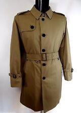AQUASCUTUM SINGLE BREASTED Trench Coat Size 46 r BNWT