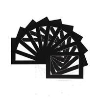 Picture  Photo Mounts  Frames Mounts - Various Sizes - A3 A4   Black