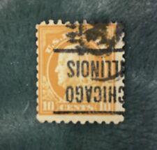 Rare Benjamin Franklin 10¢ US Postage Stamp.  #416.  9-12-1912