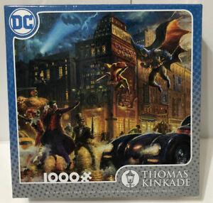 Thomas Kinkade 1000 Piece Puzzle - DC Comics - The Dark Knight ! NEW ! Sealed 🔥