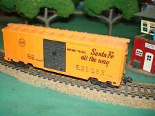 Louis Marx Sears Santa Fe All The Way Boxcar Vintage Ho Scale Model Train Car