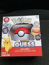 Pokemon Trainer Guess Kanto Edition Electronic Guessing Game Voice Recognition