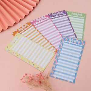 Envelope Expense Tracker Binder Budget Sheets School Office Tools Candy Print