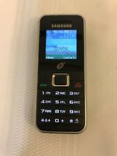 Samsung SGH-S125G Black Silver (TracFone) Cellular Phone Tested Works Free Ship