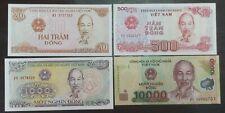 Vietnam uncirculate bank note X 4