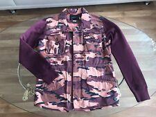 MAISON SCOTCH Blazer Jacke Mantel Luxus militär Armee Baumwolle 40 42 M L neu