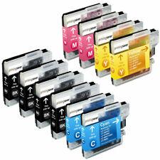 10 cartuchos COMPATIBLES para BROTHER DCP J125  DCP J140W DCP J315W LC 985