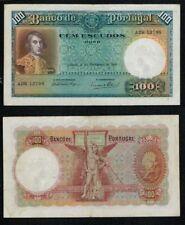PORTUGAL BILLETE de 100 ESCUDOS. 21 Febrero 1935. Serie ADR 12798.