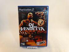 DEF JAM VENDETTA SONY PS2 PLAYSTATION 2 PAL EUR ITA ITALIANO ORIGINALE COMPLETO